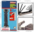 Eklind 20912 Folding Hex Key Set