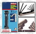 Eklind 21171 7 pc Folding Hex Key Set