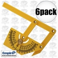 Empire 2791 6pk Protractor / Angle Finder