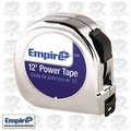 "Empire 612 5/8"" x 12' Chrome Tape Measure"