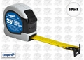 "Empire 7526 6pk 1"" x 25' Power Grip Tape Measure"