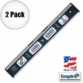 "Empire EM81.12 2pk 12"" True Blue Magnetic Level"