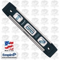 "Empire EM81.9 9"" Magnetic True Blue Torpedo Level"
