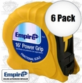 "Empire Level 7517 3/4"" x 16' Power Grip Tape Measure"