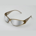 ERB 15406 Boas Brown with Silver Mirror Lens Safety Glasses