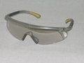 ERB 15520 I-Worx Gray/Clear Lens Safety Glasses
