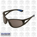 ERB 16671 Black/Smoke Lens Safety Glasses