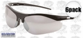 ERB 16720 6pk Mirror Safety Glasses 'Survivors'