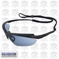 ERB 16858 Maltese Black/Blue Mirror Lens Safety Glasses