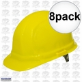 ERB 19952 8pk Yellow Ratcheting Omega II Hard Hat