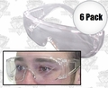 ERB 605 6pk Visitor Specs Safety Glasses