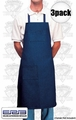 ERB F4 3pk Denim Shop Apron
