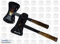 Estwing EDBA - ETA 38 oz. Black Eagle Axe and Tomahawk Kit w/ Sheaths