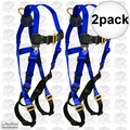 FallTech 7017 2pk Contractor Full Body Harness
