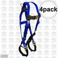 FallTech 7017 4pk Contractor Full Body Harness