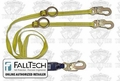 FallTech 726082D ClearPack Polyester Shock Absorbing Lanyard