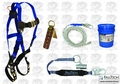 FallTech 8595A Roofer's Harness, Lanyard, Vertical Lifeline more