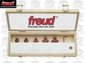 Freud 89-152 5pc Round Over/ Beading Bit Set