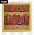 Freud 93-200 6 Piece Architectural Molding Router Bit Set