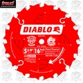 Freud D0516X Diablo Cordless Trim Saw Blade