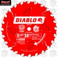 "Freud D0524X 5-3/8"" x 24 Tooth Diablo Framing ATB Blade"