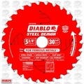 "Freud D0530FM 5-3/8"" x 30 Tooth Diablo Ferrous Cutting Saw Blade"
