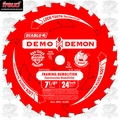 "Freud D0740A 7-1/4"" x 24 Tooth Diablo Demo Demon Circular Saw Blade (Bulk)"
