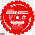 "Freud D0724DA 7-1/4"" x 24 Tooth Diablo Demo Demon Circular Saw Blade (Bulk)"