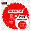 Freud D0724P X 2pk Diablo Carbide Circular Saw Blade