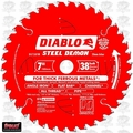 "Freud D0738FM 7"" x 38 Tooth Diablo TCG Ferrous Cutting Saw Blade"