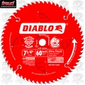 "Freud D0760A 7-1/4"" x 60T Diablo Ultra Fine Finishing Circ Saw Blade (Bulk)"