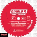 "Freud D0842CF 8"" Steel Demon 42T Cermet II Carbide Ferrous Metal Saw Blade"
