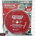 "Freud D0946CF 9"" Diablo Steel Demon Cerment II Carbide Metal Cutting Blade"