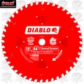"Freud D1244X 12"" x 44 Tooth Diablo Combination Blade"