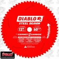 "Freud D1260CF 12"" x 60 Tooth Diablo Steel Demon Ferrous Metal Blade"