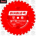 "Freud D1632X 16-5/16"" x 32 Tooth Diablo Beam Cutting Blade"