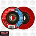 "Freud DCX045040N01F DIABLO 4-1/2"" Steel Demon Flap Disc 40 Grit"