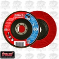 "Freud DCX045060N01F DIABLO 4-1/2"" Steel Demon Flap Disc 60 Grit"
