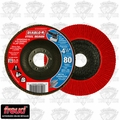 "Freud DCX045080N01F DIABLO 4-1/2"" Steel Demon Flap Disc 80 Grit"