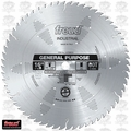 "Freud LU72M016 16"" x 60T ATB Carbide Industrial Circular Saw Blade"