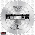 "Freud LU89M010 10"" x 72 Tooth TCG Carbide Non-Ferrous Metal Blade"
