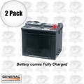 Generac 5819 2pk Wet Cell Generator Battery 26R