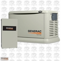 Generac 6098 20/18 kW Air-Cooled Standby Generator VSCF 200amp TS
