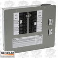 Generac 6378 Manual Transfer Switch (120/240V 8-Circuit) Indoor