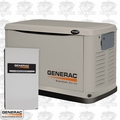 Generac 6438 11,000/10,000 Watt Air Cooled Standby Generator