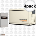 Generac 6462 4pk 16,000 Watt Air Cooled Standby Generator
