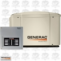 Generac 6519 PowerPact 7kW Home Standby Generator w/ 50-Amp 8-Circuit ATS