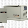 Generac 6551 22kW Alum Standby Genset w/ 200A ATS AC Shed FREE SHIP & L-GATE