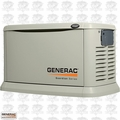 Generac 6552 22kW Air Cooled Standby Generator w/ Grey Aluminum Enc