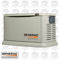 Generac 6552 Air Cooled Standby Generator w/ Grey Aluminum Enc